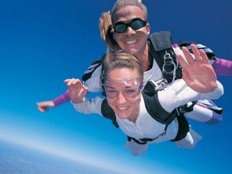 Salto en paracaídas Barcelona tándem