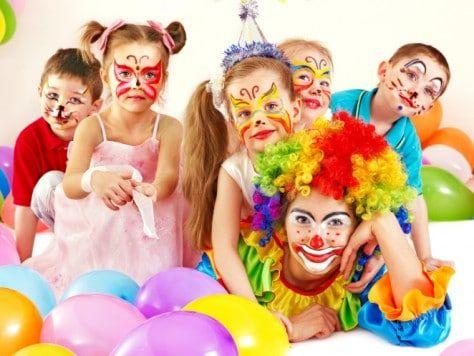 Fiesta de cumpleaños infantil con animación