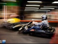 Carrera karting indoor gran prix con cena incluida