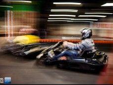 Gran prix de karts gourmet en Barcelona. Carrera karting indoor con cena incluida para fiestas.