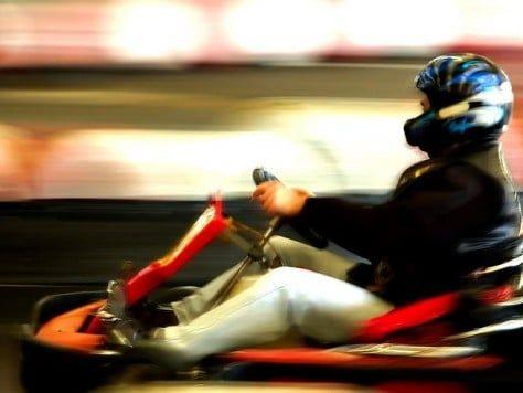 Gran prix de karts en Barcelona para fiestas