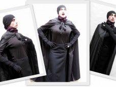 Piero Verzello, un vampiro de risa en Barcelona,Baronesa Arabella Nosferatu show cómico
