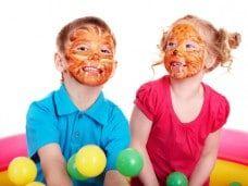 Maquillaje: pintacaras infantil en Barcelona fiestas de cumpleaños