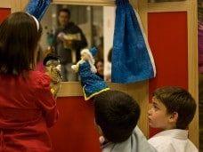 Teatro de títeres y marionetas para la fiesta infantil