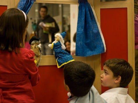 Marioneta party: fiesta infantil -Teatro de títeres y marionetas en Barcelona