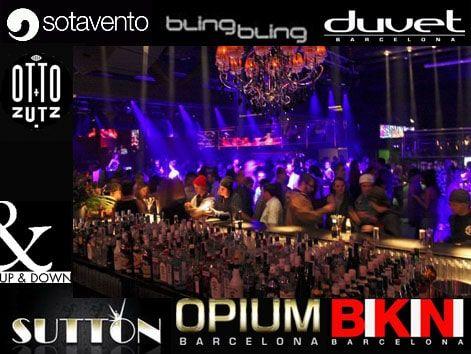 La mejor fiesta, las discotecas más de moda de Barcelona