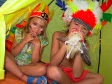 Fiesta temática de indios