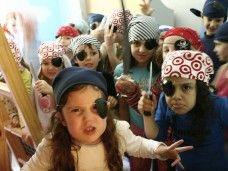 Fiesta temática de piratas en Barcelona para niños infantil