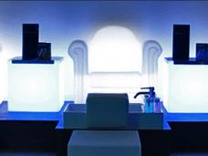 sala privada para tratamientos de belleza en grupo