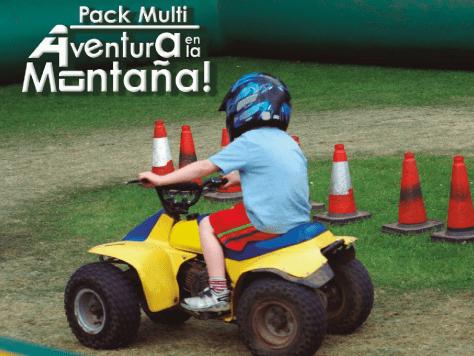 Multiaventura en la montaña: pack de actividades para cumpleaños infantiles en la naturaleza