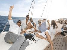 Fiesta para 25 a 65 personas en un velero