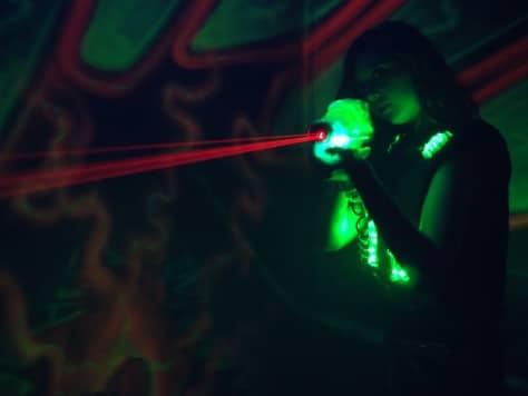 Batalla láser Junior en la ciudad Batalla de laser tag