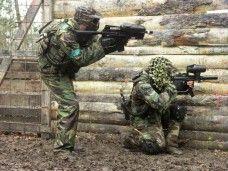 Batalla laser combat