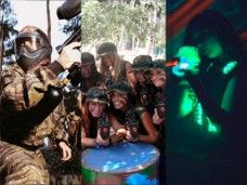 Laser tag Barcelona, Paintball, o láser combat – Ideas para fiestas