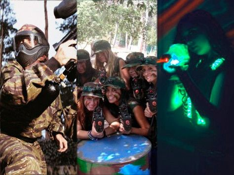 Laser tag Barcelona, Paintball, o láser combat – Ideas para fiestas