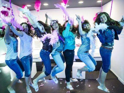 Beauty party en sala privada para chicas