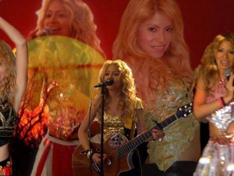 Shakira está en mi fiesta en Barcelona, animación completa, tributo