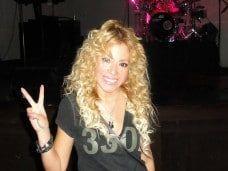 La doble de Shakira en tu fiesta en Barcelona