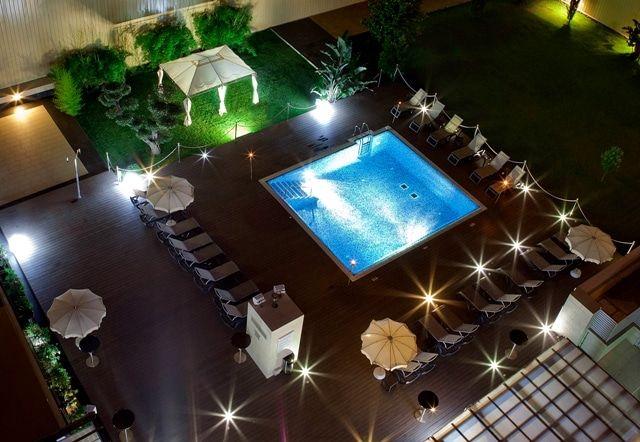 Terraza de hotel para tomar algo ideas para fiestas de for Tomar algo en barcelona noche