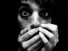 animación de terror y miedo