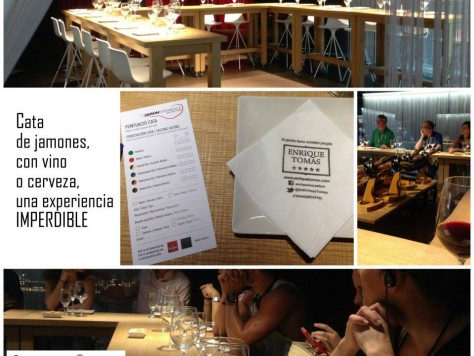 Cata de jamón ibérico y de bellota para cumpleaños en Barcelona - Exprience