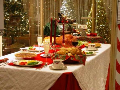Ideas originales para la cena de navidad blog cumpleparty - Mesa navidena ...