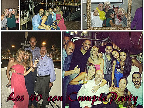 Los 40 con cumpleparty