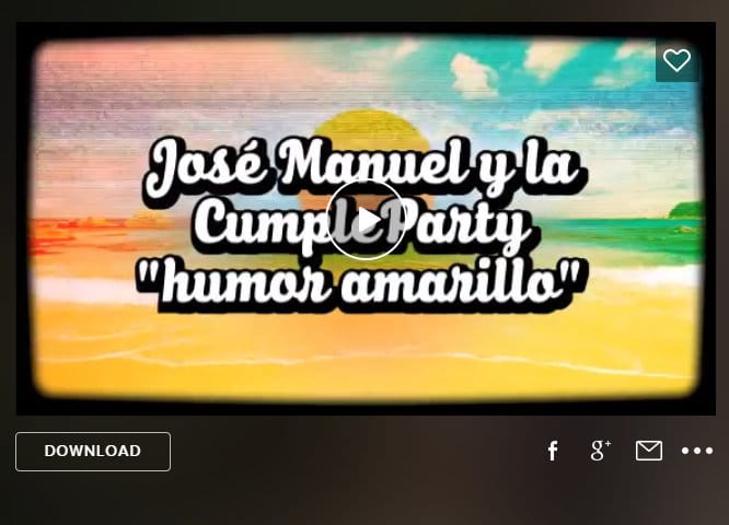 Cumpleparty con humor amarillo el cumple de jos manuel - Actividades cumpleanos adultos ...