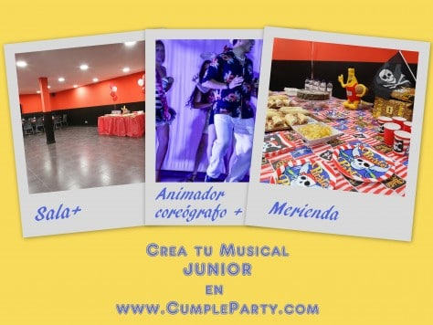 Crea tu propio musical Junior