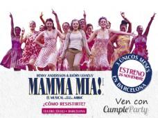 Mamma Mia el musical con Cumpleparty