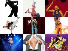 Espectáculos y shows para tu fiesta - Collage shows
