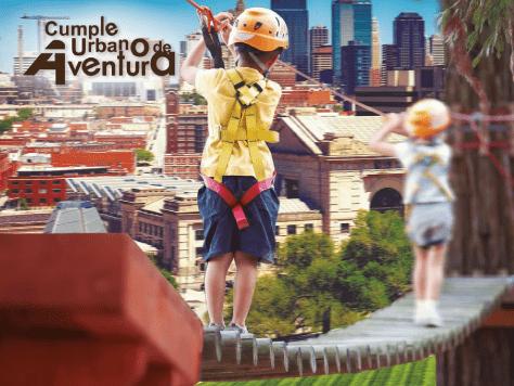 Cumple urbano de aventura: fiestas infantiles con actividades para toda la familia