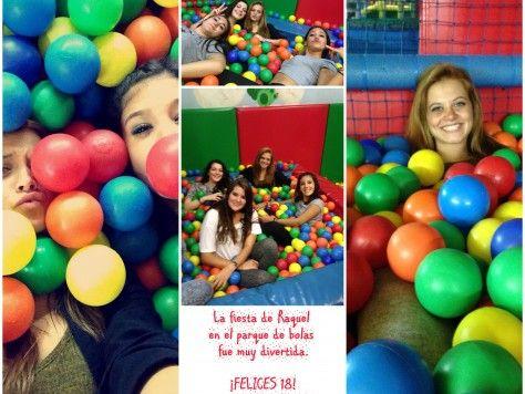 18 cumpleaños en parque de bolas