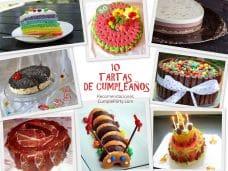 10 tartas de cumpleaños y sus recetas recomendadas por CumpleParty