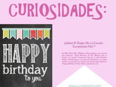 Curiosidades del origen de la canción de cumpleaños