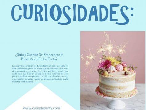 Curiosidades: el origen del pastel de cumpleaños