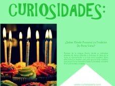 Curiosidades sobre las velas de cumpleaños