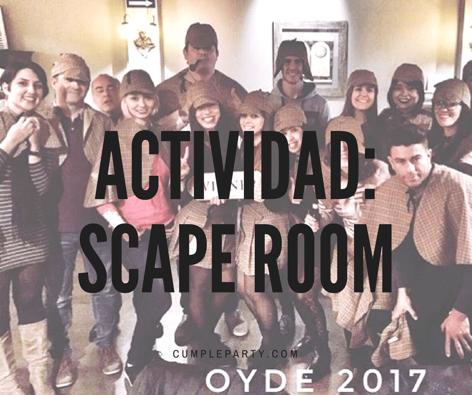 OYDE hace un scape room