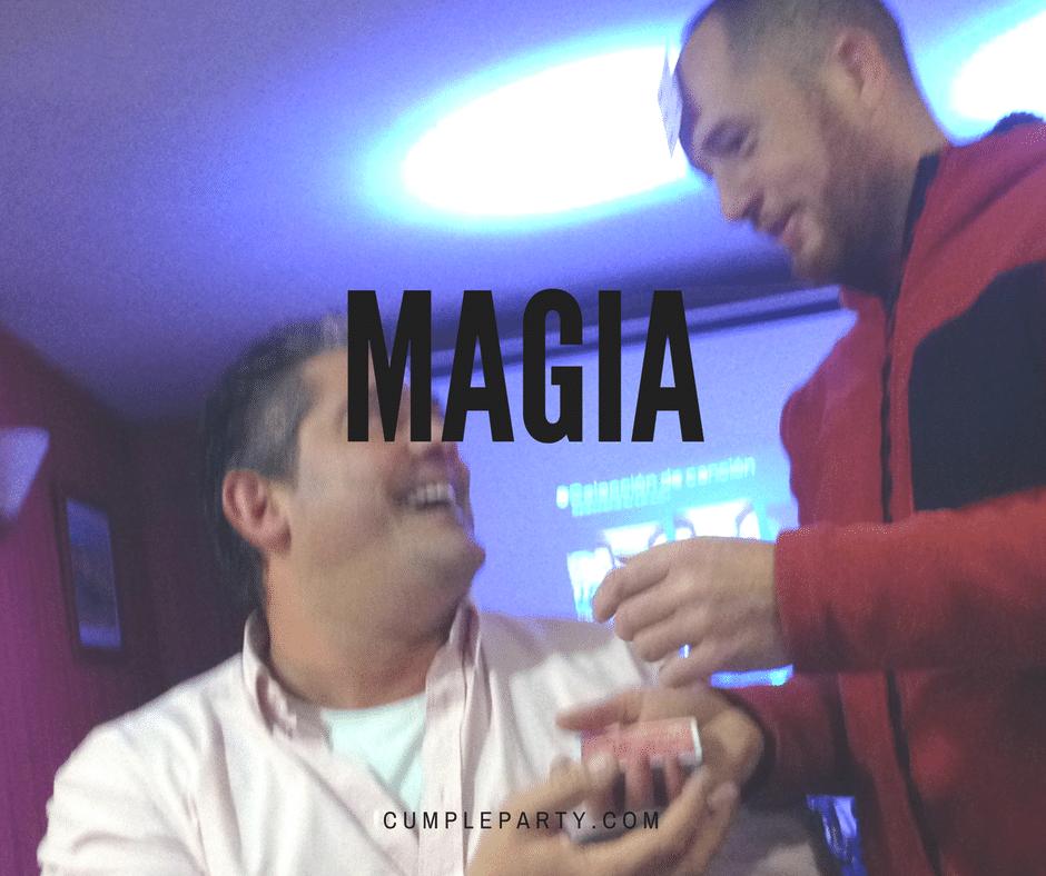 La magia y el humor no pueden faltar en un evento perfecto