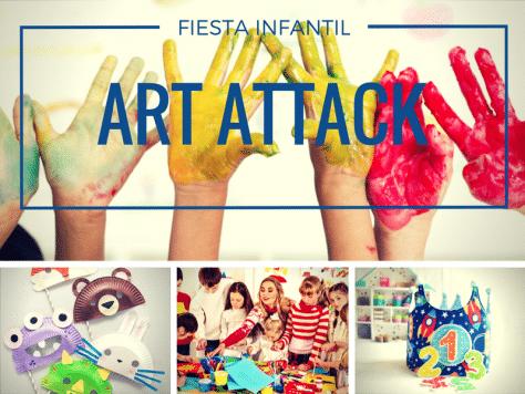 Animación cumple Art attack