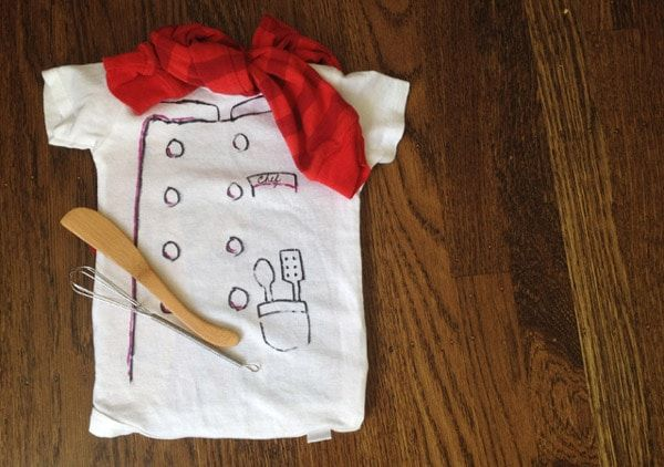 Disfraz casero de cocinero para niños ¡fácil y divertido!