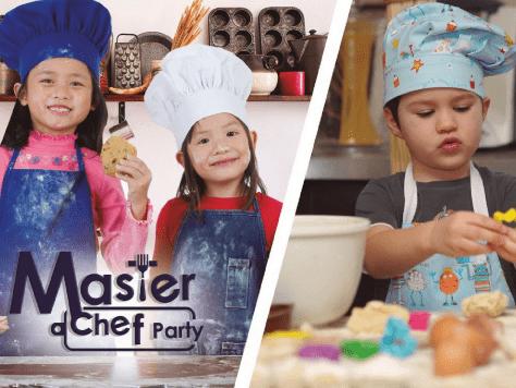 Fiesta infantil con animación Master Chef Party